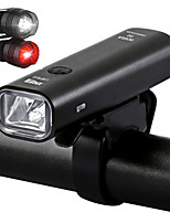 cheap -LED Bike Light Front Bike Light Safety Light LED Bicycle Cycling USB Charging Output Quick Release Durable Lithium Battery 200/360 lm Rechargeble Battery Built-in power supply White Everyday Use