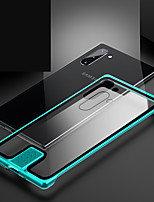 cheap -Case For Samsung Galaxy Note 9 / Galaxy S10 / Galaxy S10 Plus Shockproof Back Cover Solid Colored Metal