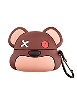 cheap -Case For AirPods Pro Shockproof / Lovely Headphone Case Soft