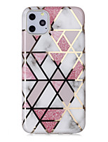 cheap -Case For Apple iPhone 11 / iPhone 11 Pro / iPhone 11 Pro Max Shockproof / Dustproof / Ultra-thin Back Cover Glitter Shine TPU
