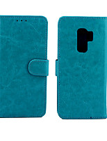 cheap -Case For Apple Samsung Galaxy S9 / S9 Plus / S8 Plus Palace flower PU Leather with Card Slot Flip up and down For S7 / S7 EDGE / S6 S6 EDGE