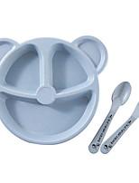abordables -1 set assiette à dîner vaisselle en plastique ingénierie cool