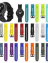 cheap -Smartwatch Band for Garmin Fenix 6X / 6x pro / Fenix5X / 5x Plus /3 /3HR /D2 Sport Band Soft Comfortable Silicone QuickFit Wrist Strap 26mm