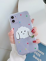 cheap -Case For Apple iPhone 11 / iPhone 11 Pro / iPhone 11 Pro Max Ultra-thin / Pattern Back Cover Dog / Transparent TPU