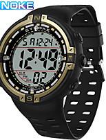 cheap -SYNOKE Digital Watch Digital Sporty Stylish Silicone 30 m Water Resistant / Waterproof Calendar / date / day LCD Digital Outdoor Fashion - Black / Gray black / gold Black / Silver