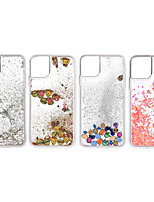 cheap -Case For Apple iPhone 11 / iPhone 11 Pro / iPhone 11 Pro Max Shockproof / Flowing Liquid Back Cover Transparent TPU