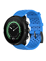 cheap -Watch Band for Suunto Spartan Sport Wrist HR Baro Suunto Classic Buckle Silicone Wrist Strap