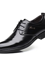 cheap -Men's Formal Shoes PU Fall & Winter Oxfords Black