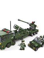 cheap -Building Blocks 100 pcs Military compatible Legoing Simulation Military Vehicle All Toy Gift / Kid's