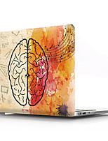 cheap -Hard Cover Shell for MacBook Case Pro Air Retina 11/12/13/15 (2019/2018/2017/2016) PVC Creative brain