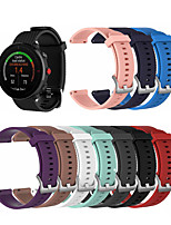 cheap -Watch Band for POLAR VANTAGE M Polar Sport Band / Classic Buckle Silicone Wrist Strap