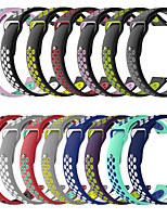 cheap -Watch Band for Samsung Galaxy Watch 46mm / Samsung Galaxy Watch 42mm / Amazfit  GTR  42mm Samsung Galaxy Sport Band Silicone Wrist Strap