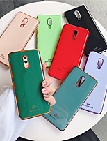 cheap -Case For OPPO OPPO A7 / oppo R17 / oppo A5 Plating Back Cover Solid Colored TPU R15 Reno A7 A3 F9 F9pro
