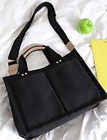 cheap -Women's Zipper PU Crossbody Bag Geometric Pattern Black / White / Yellow