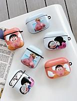 cheap -Case For AirPods Cute / Shockproof / Dustproof / Doraemon Headphone Case Hard