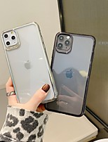 cheap -Case For Apple iPhone 11 / iPhone 11 Pro / iPhone 11 Pro Max Shockproof / Ultra-thin / Transparent Back Cover / Bumper Transparent TPU / PC