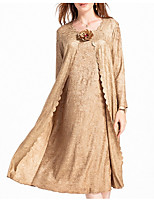 cheap -Long Sleeve Polyester Wedding Women's Wrap With Ruching Basic