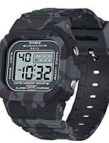 cheap -SYNOKE Digital Watch Digital Sporty Stylish Silicone 30 m Water Resistant / Waterproof Calendar / date / day LCD Digital Outdoor Fashion - Black Green Gray