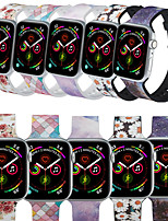 cheap -Watch Band for Apple Watch Series 5/4/3/2/1 Apple Sport Band / Cartoon Band Silicone Wrist Strap