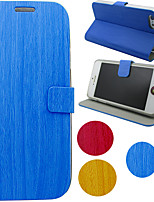 cheap -Case For Samsung Galaxy S4 / S3 / Note 3 with Stand / Flip Full Body Cases Solid Colored / Marble PU Leather