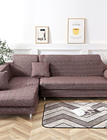 cheap -Solid Coffee Print Dustproof All-powerful Slipcovers Stretch Sofa Cover Super Soft Fabric Couch Cover with One Free Pillow Case