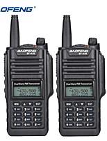 cheap -2PCS Baofeng BF-A58 Walkie Talkie IP68 impermeable 128CH de doble banda UHF VHF de dos vas Radio transmisor FM porttil CB estacin de Radio-aficionado