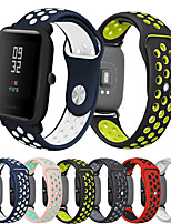 cheap -Smartwatch Band for Amazfit Bip Younth / Amazfit Bip / Bip Lite / GTS /  GTR 42mm Huami Amazfit sport Band Fashion Soft comfortable Silicone Wrist Strap 20mm