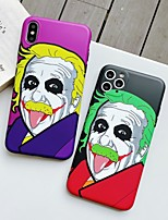 cheap -Case For Apple iPhone 11 / iPhone 11 Pro / iPhone 11 Pro Max Shockproof / Ultra-thin Back Cover Cartoon PC