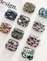 cheap -AirPods Pro Headphone Case Camouflage Color Hard PC Earphone Protection Cover