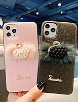 cheap -Case For Apple iPhone 11 / iPhone 11 Pro / iPhone 11 Pro Max Shockproof Back Cover Cartoon / Plush TPU