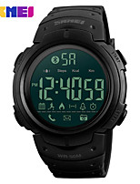 cheap -SKMEI Smartwatch Digital Modern Style Sporty Silicone 30 m Water Resistant / Waterproof LCD Casual Watch Digital Casual Fashion - Black Green