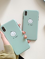 cheap -Case For Apple iPhone 11 / iPhone 11 Pro / iPhone 11 Pro Max Shockproof / Ultra-thin Back Cover Word / Phrase / Solid Colored / Cartoon PC