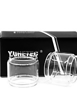 cheap -YUHETEC Fat Glass tube for Vandy vape BERSERKER MTL RTA 6ml Atomizer 2PCS