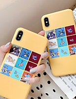 cheap -Case For Apple iPhone 11 / iPhone XR / iPhone XS Max Shockproof / Ultra-thin Back Cover Cat / Cartoon PC