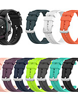 cheap -Huawei watch Silicone Strap for watch GT2 42mm / watch2 / honor MagicWatch 2 42mm Sport Bands High-end Fashion Soft comfortable Health Silicones Wrist Straps 20MM