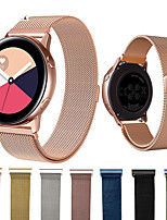 cheap -Smartwatch Band for Samsung Galaxy 42 / Active / Active2 / Gear S2 / S2 Classic / sport Milanese Loop Stainless Steel Band Wrist Strap 20mm
