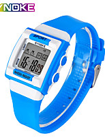 cheap -SYNOKE Digital Watch Digital Sporty Stylish Silicone 30 m Water Resistant / Waterproof Calendar / date / day LCD Digital Outdoor Fashion - Black White Blue