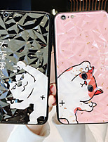 cheap -Case For Apple iPhone 11 / iPhone XS / iPhone XR Shockproof Back Cover Word / Phrase / Animal / Cartoon PC