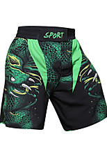 cheap -CODYLUNDIN Men's Running Shorts Sports Shorts Running Fitness Jogging Breathable Quick Dry Soft 3D Print Green / Stretchy