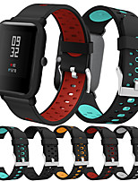 cheap -Smartwatch Band for Amazfit Bip Younth / Bip Lite / GTS /  GTR 42mm  /Amazfit Bip Huami sport Band Fashion Soft comfortable Silicone Wrist Strap 20mm