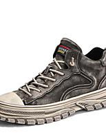 cheap -Men's Comfort Shoes Pigskin Fall & Winter Sneakers Gray / Khaki
