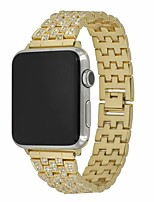 cheap -Watch Band for Apple Watch Series 5 / Apple Watch Series 5/4/3/2/1 / Apple Watch Series 4 Apple Modern Buckle / Jewelry Design / Business Band Stainless Steel Wrist Strap