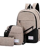 cheap -Women's PU Bag Set 3 Pcs Purse Set Black / Wine / Blushing Pink