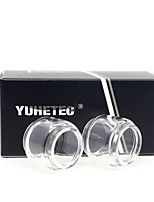 cheap -YUHETEC Fat Glass tube for SMOK stick M17 Atomizer 2PCS