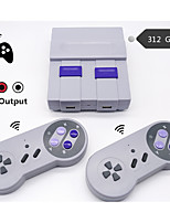 cheap -WIRELESS RETRO MINI TV VIDEO GAME CONSOLE RETRO GAME CONSOLE FOR NES 8 BIT GAMES WITH 312 BUILT-IN GAMES DOUBLE GAMEPADS