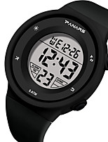 cheap -SYNOKE Digital Watch Digital Sporty Stylish Silicone 30 m Water Resistant / Waterproof Calendar / date / day LCD Digital Outdoor Fashion - Black Black / White Blue