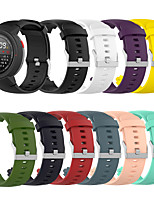 abordables -smartwatch bande foramazfit verge a1801 / verge / verge 3 / verge a1808 / verge 2 bande de sport mode doux confortable bracelet en silicone