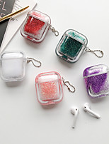 cheap -Case For AirPods Shockproof / Transparent Headphone Case Soft