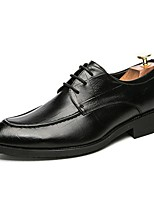 cheap -Men's Formal Shoes PU Fall & Winter Oxfords Black / Brown