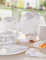 abordables -1 set Services de Vaisselle Vaisselle Porcelaine Cool